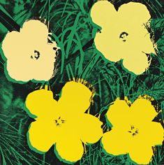 Andy Warhol - Flowers FS II.72, Sunday B. Morning   Oeuvre d'Art en Vente Artsper