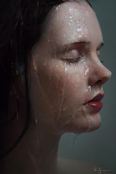 alyssa monks painting. The painting is so realistic it hurts my brain. Beautiful.