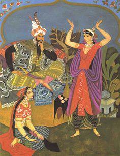 "Gustaf Tenggren - illustration (""Golden Tales from Arabian Nights"", Arabian Knights, Night Illustration, Book Illustrations, Fairytale Art, Children's Picture Books, Little Golden Books, Illustrators, Fairy Tales, Miniature"
