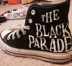 Black Parade Converse