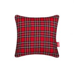Christmas Spirit Pillow #pillow #soft #fuzzy #warm #plaids #christmas #present #interiordesign #homedeco #joy #charity #donation