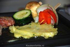 De lekkerste gourmetrecepten! Fondue, Sushi, Teppanyaki, Cake Cookies, Grilling, Bbq, Food And Drink, Meat, Chicken