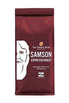 Samson Espresso Roast Coffee Micro Roasted Gourmet Specialty Coffee (Ground, 12 oz) ** Click image for more details.