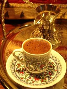 Learn how to make Turkish style coffee with detailed explanations and corresponding video.  Traditions, utensils, hints and tips which will upgrade your coffee making experience. #turkishcoffee #turkishcoffeerecipe