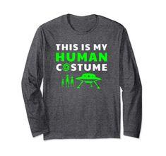Unicorn This Is My Human Costume Funny Novelty Sweatshirt Jumper Top