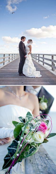 Traumhaft auf der Seebrücke an der Ostsee!