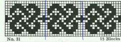 muziek en meer: randen-plaid Peyote Patterns, Beading Patterns, Blackwork Embroidery, Chart Design, Knitting Charts, Weaving, Cross Stitch, Tapestry, Crochet Bags