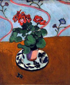 Henri Matisse - Geraneos (1915)