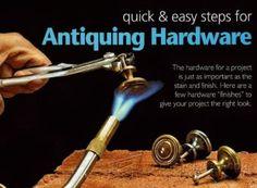 2708-DIY Antique Hardware