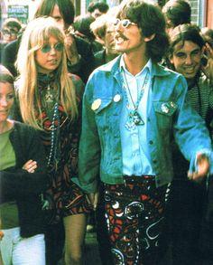 george harrison san francisco 1967 Pattie Boyd summer of love Haight Ashbury