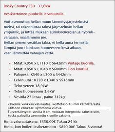 Myynti menestys vesikierto puuhella - Mirana Finland Finland