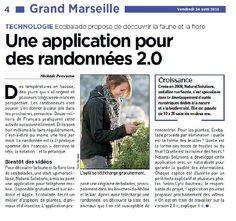 20 minutes Marseille - Une application mobile pour des randonnées 2.0 | Balade : Randonnée près de chez vous
