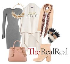Fall Style With The RealReal: Contest Entry - summerocha.Polyvore - featuring #AlexanderWang, #Alexander McQueen, #Burberry, #Prada, #fall2015, #TheRealReal, #style2015