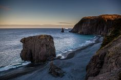 Newfoundland, Windsor, Sea, Art Prints, Water, Outdoor, Art Impressions, Aqua, Outdoors
