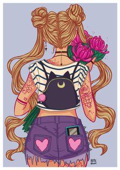 Sailor Moon by HetteMaudit