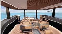 Explore NAUCRATES 88 yacht for sale; through beautiful photos and a full walk-through description of this impressive Ocean King Expedition Yacht. Explorer Yacht, Expedition Yachts, Yacht For Sale, Outdoor Furniture Sets, Outdoor Decor, Exterior Design, This Is Us, Yard, Ocean