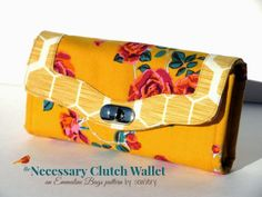 The Necessary Clutch Wallet x 2