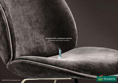 Groupama: new #printad #advertising #ad #marketing #groupama