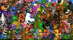 fnaf_world_wallpaper__with_update_2_characters__by_joshuathevideoguy-d9s5dxn.jpg (1024×576)