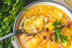 Kapuśniak z kiszonej kapusty na boczku z ziemniakami Thai Red Curry, Ethnic Recipes, Blog
