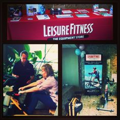 @Leisure Fitness - Leisure Fitness at the N.K.S #healthfair in New Castle, DE. Encouraging employees to be #active and #healthy! #befitstayfitlivewell