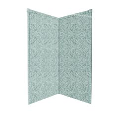 Shop Transolid Decor Matrix Dusk/Stone Fiberglass/Plastic Composite Shower Wall Surround Corner Wall Panel (Common: 36-in x 36-in; Actual: 72-in x 36-in x 36-in) at Lowes.com