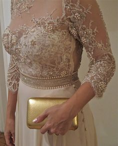 Length Sleeves Pearls Lace Mother of the Bride Dress 2019 Mother Of The Bride Dresses Long, Mothers Dresses, Mom Dress, Lace Dress, Dress Break, Evening Dresses, Prom Dresses, Peplum Dresses, Dresses Elegant