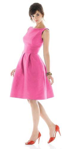 Alfred Sung Bridesmaid Dresses - Style D440 - Peau De Soie | Weddington Way  | Weddington Way, $164