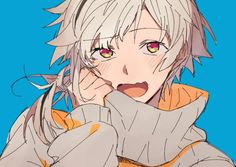 A soft and pure bean. () A soft and pure bean. Anime Manga, Anime Guys, Anime Art, Stray Dogs Anime, Bongou Stray Dogs, Bungou Stray Dogs Characters, Fanart, Another Anime, Face Expressions