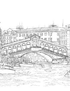 Venice Coloring Book for Adults by Alexandru Ciobanu - issuu