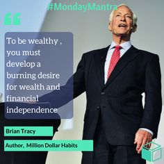 Great Investment Quotes, Brian Tracy Source - Lendbox.in