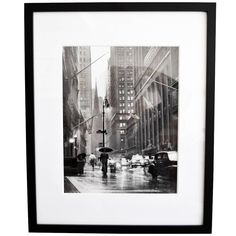 1953 Original Photograph 'Wall Street' by Jerry Muller