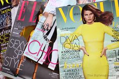 there are plenty of girly magazines to choose from these days