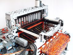 Lego machine for spinning