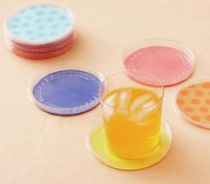 Colorful Coasters | Fast, foolproof, and surprising ideas for any celebration.