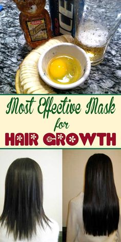 Most Effective Mask for Hair Growth - Beauty Glamour