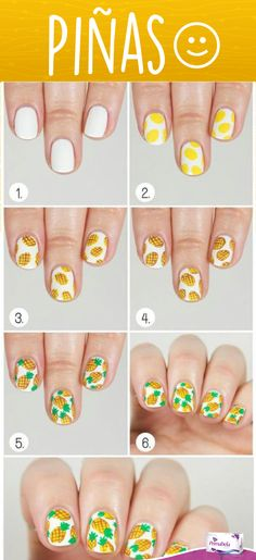 Furry Nails Art The Latest Nail Trend That Compliments Insanity Fun and Easy Nail Art DIY with Pineapples – 15 Color Block Nail Art Tutorials for Summer 2015 Nail Art Diy, Easy Nail Art, Cool Nail Art, Kid Nail Art, How To Nail Art, Easy Nails, Simple Nails, Diy Ongles, Nail Tutorials