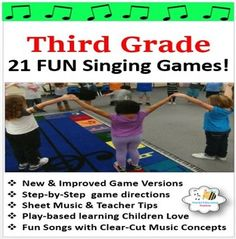 Elementary Music Games Grade Singing Games} by Stucki Education Station Singing Games, Music Games, Music Lesson Plans, Music Lessons, Play Based Learning, Fun Learning, Fun Songs, Music Activities, Elementary Music