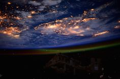 ESA Astronaut Takes Beautiful Series of Earth from Space Photographs