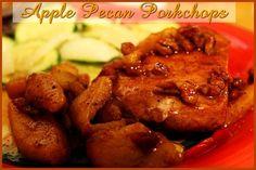 Apple Pecan Pork Chops http://www.momspantrykitchen.com/apple-pecan-porkchops.html
