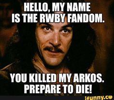 rwby, pyrrha jaune, arkos