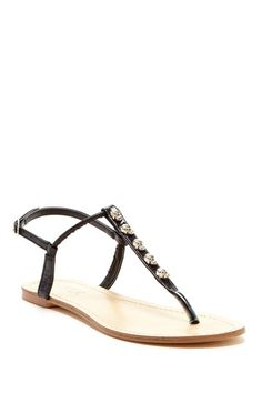 Ghostrider Flat Sandal by NYLA on @HauteLook