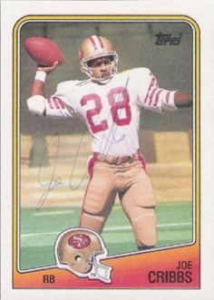 Find the best deal on Joe Cribbs autographed items for your collection of Sports, Football memorabilia. Football Trading Cards, Baseball Cards, Football Run, Cribbs, Football Memorabilia, Auburn University, Vintage Football, National Football League, Upper Deck