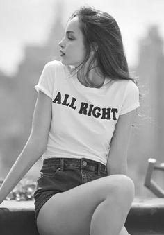 Mundo de Aline: T-shirt branca