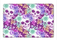Wreaths of Garden Flowers and Skulls Design Cover Leather... https://www.amazon.com/dp/B01GG7DML4/ref=cm_sw_r_pi_dp_x_NqUiybKQ5Z59R