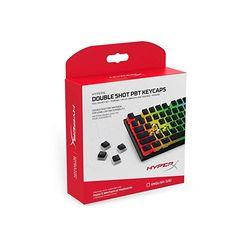 HyperX Double Shot PBT Keycap Set - for sale online Keyboard Language, Keyboard Typing, Pc Keyboard, Kingston Technology, Key Caps, Double Shot, Black Sails, Hardware, Layout