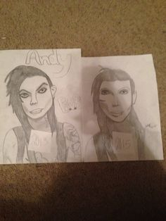 Redraw by ashley turner plz repin with credit. HAVE I IMPROVED????? Plz comment and let me know