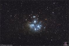 The Pleiades Star Cluster - Whirlpool Galaxy-Andromeda Galaxy-Black Holes