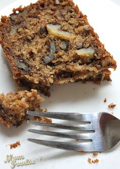 Oatmeal Banana Nut Bread (gluten-free dessert recipe made with common ingredients)