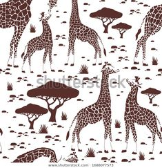 Find Beautiful Tropical Vintage Seamless Pattern Giraffe stock images in HD and millions of other royalty-free stock photos, illustrations and vectors in the Shutterstock collection. Thousands of new, high-quality pictures added every day. Giraffe, Exotic, Royalty Free Stock Photos, Tropical, Texture, Wallpaper, Illustration, Artist, Pattern